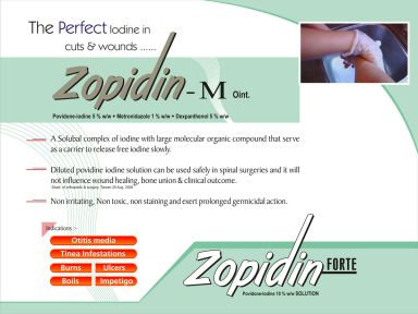 ZOPIDIN(TM) FORT - Zodak Healthcare